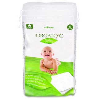 organyc cotton squares