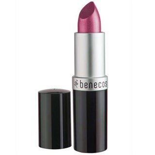 benecos natural lipstick hot pink