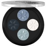 lavera quattro eyeshadow blue platinum 07 natural