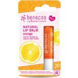 benecos natural lip balm orange fruit lip balm
