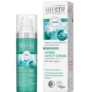 lavera hydro effect serum natural face cream anti ageing