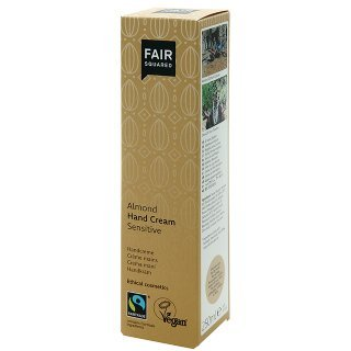 fair squared almond hand cream fair trade hand