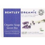 bentley organic calming and moisturising bar soap vegan