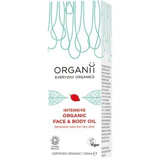 organii intensive organic face and body oil hypersensitive