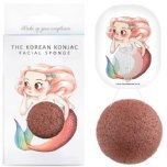 the konjac sponge co mermaid rich red clay sponge and hook