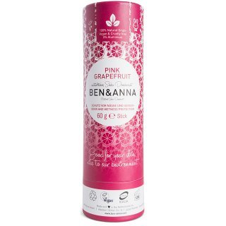ben and anna natural soda deodorant pink grapefuit