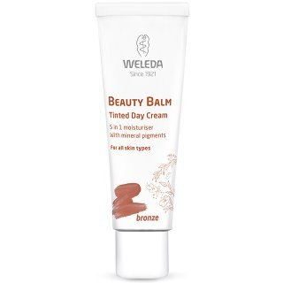 weleda beauty balm bronze tinted day cream