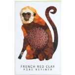 the konjac sponge co mini pore refiner red clay monkey