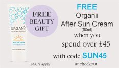 spend over £45 and get a free