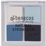 benecos true blue eyeshadow quattro blue eyeshadow