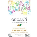 organii almond and avocado soap organic bar soap natural soap