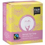 fair squared apricot hair soap sensitive scalp vegan