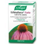 a vogel echinaforce forte cold flu tablets herbal remedy